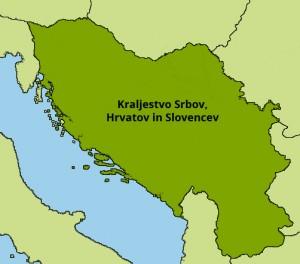 Kraljevina Srbov, Hrvaton in Slovencev
