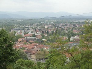 The view on Ljubljana