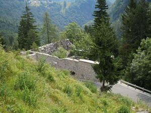 Spodnja trdnjava Predel