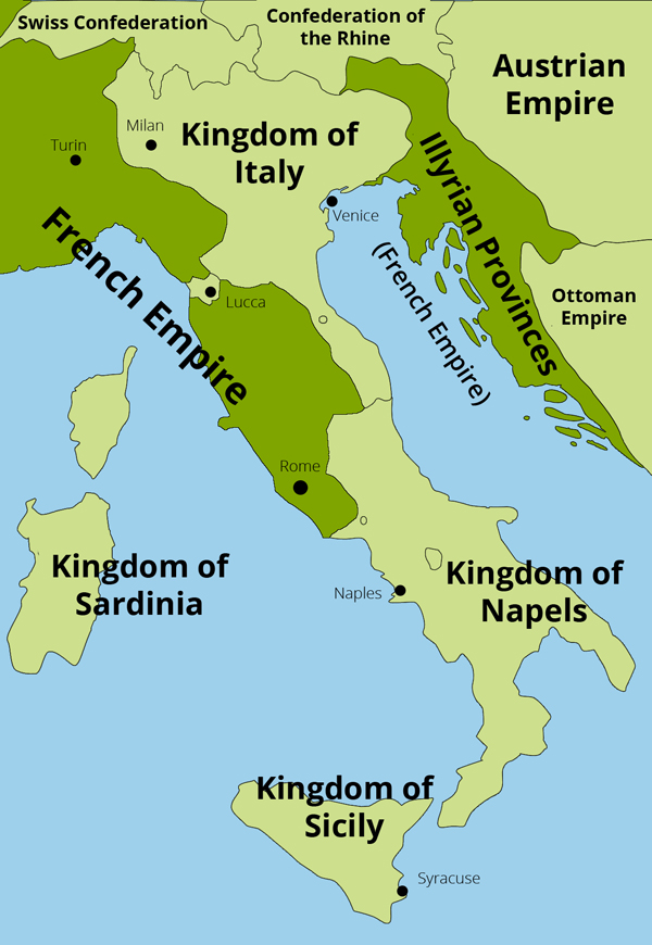 illyrian provinces Croatia 1805-1813: the napoleonic french illyrian provinces fig 8 croatia 1805 – 1813: the napoleonic french illyrian provinces based on a map in: dennis p hupchick, the palgrave concise historical atlas of the balkans (new york: palgrave, 2001), map 25 close.